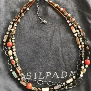 "Silpada ""Fiesta Fun"" necklace N1563"